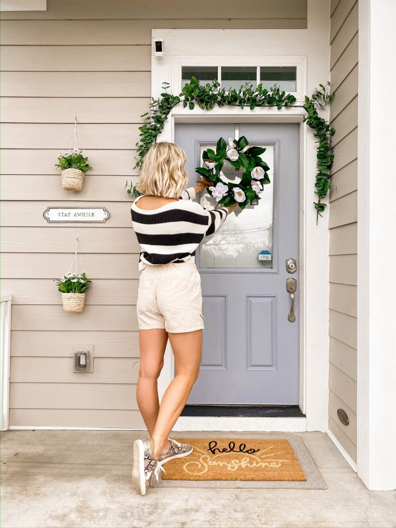 How To Decorate Your Porch For Spring and Summer
