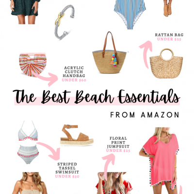 The BEST Beach Essentials From Amazon