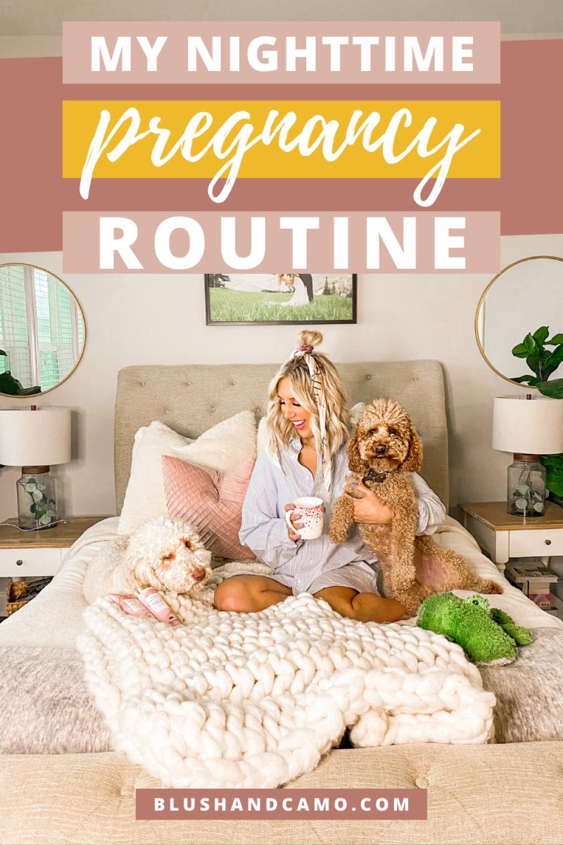 My Nighttime Pregnancy Routine