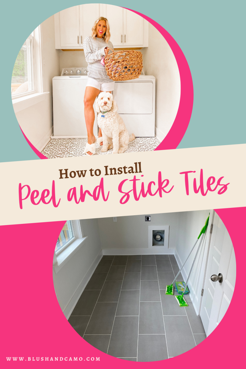 How To Install Peel And Stick Floor Tile